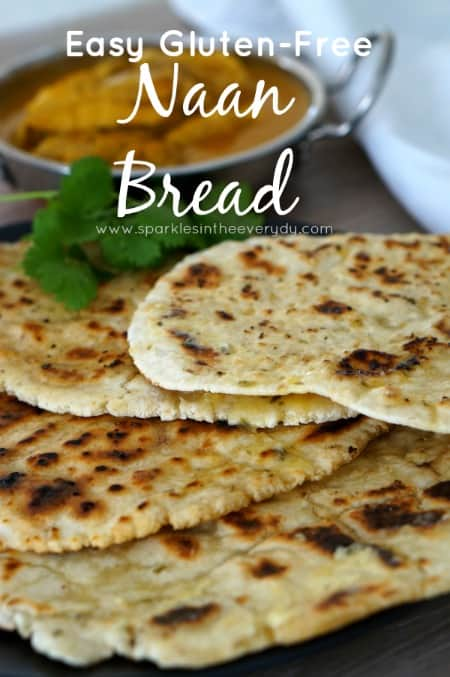 Easy Gluten Free Naan Bread Sparkles In The Everyday