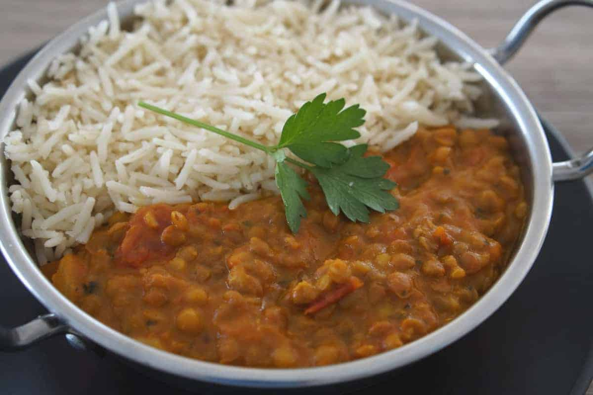 Tomato and Lentil Curry Recipe - Gluten-Free, Vegan